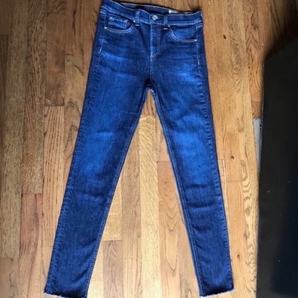 rag & bone Denim - Rag & Bone Ankle Fray Skinny size 26